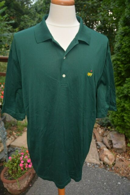 ff308356ab493 Official AUGUSTA NATIONAL GOLF SHOP Masters Green S/S Polo Shirt Men's Size  XL