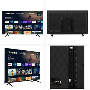 Hisense 55A6G 55-Inch 4K Ultra HD Android Smart TV with Alexa Compatibility