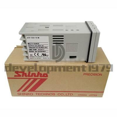 1PC JCS-33A-R//M SHINKO Thermostat Digital Display Temperature Controller