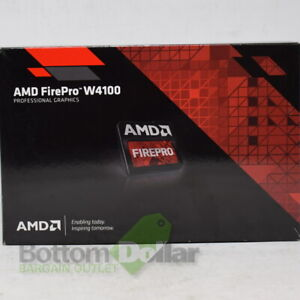 AMD-FirePro-W4100-2GB-GDDR5-Low-Profile-Professional-Graphics-Card