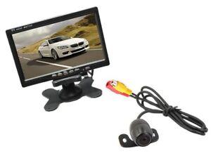 Kit retromarcia Telecamera camper, auto, rimorchi Monitor LCD 7'' staffata