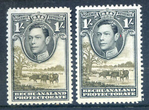 Bechuanaland-1938-Definitives-1sh-the-2-shades-unmounted-mint-2019-04-01-05