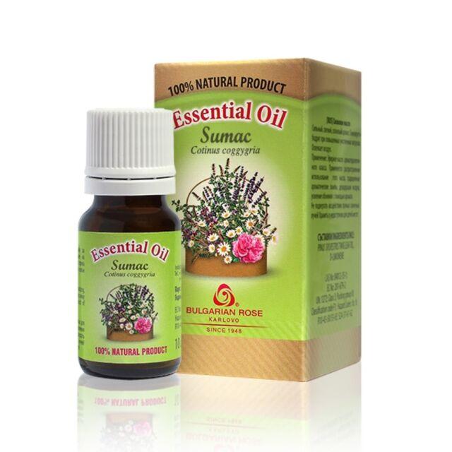 100% Pure Sumac Essential Oil 10 ml 0.33 oz Therapeutic Undiluted