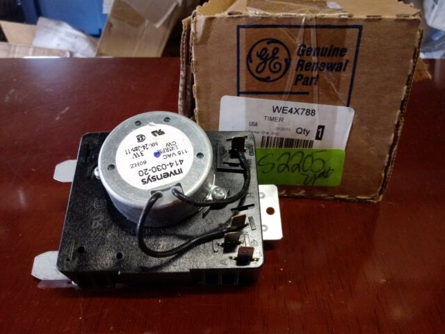 General Electric WE4X788 Dryer Timer