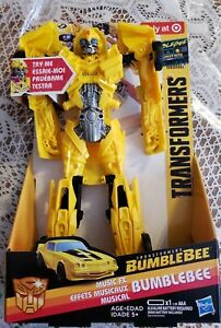 Yellow NEW Transformers Bumblebee Greatest Hits Music FX Bumblebee