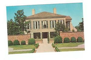 VINTAGE-ANTE-BELLUM-PLANTATION-STONE-MT-MEMORIAL-PARK-GEORGIA-POSTCARD-CLEAN