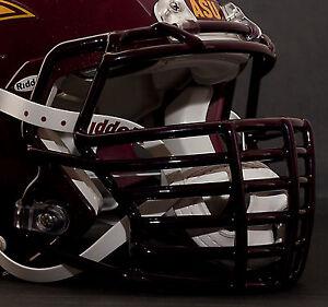 JUSTIN TUCK style Riddell Revolution SPEED Football Helmet Facemask GRAY
