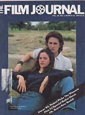 MARCH 25 1983 THE FILM JOURNAL vintage movie magazine BAD BOYS - SEAN PENN