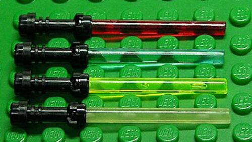 64567 30374 NEUWARE 4 x Laserschwert mit Griff schwarz a02 LEGO