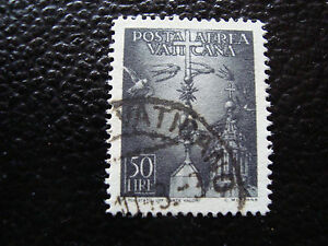 Vatican-Stamp-Yvert-and-Tellier-Air-N-14-Obl-A11-Stamp