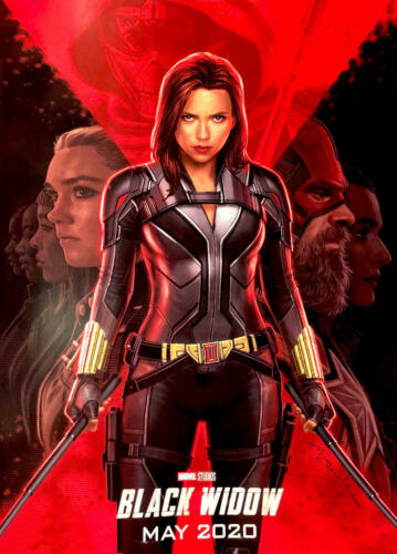 Black Widow Movie 2020 New Art Comics Silk Canvas Film Poster Print 24x36 inch