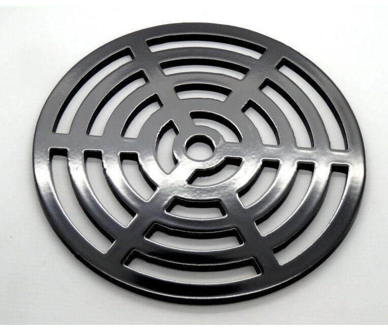220mm Round Metal steel Gully Grid Heavy Duty Drain Cover likecast iron stronger