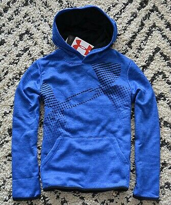 NWT BOYS YOUTH UNDER ARMOUR COLD GEAR 1//4 ZIP HENLEY JACKET COAT YTH SZ S-XL