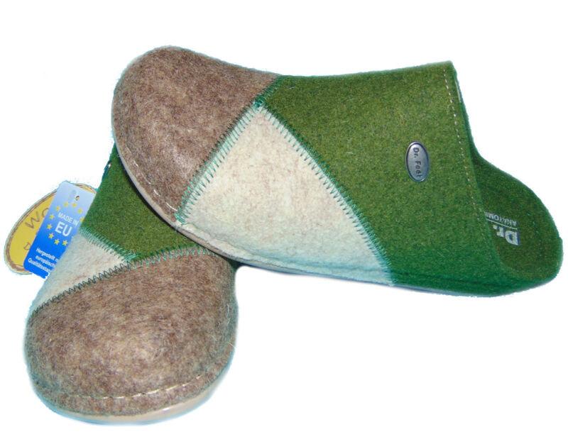 Dr. Feet Pantofole Ciabatte Natura Feltro Schlupfer Aiuta Sandali 36-42