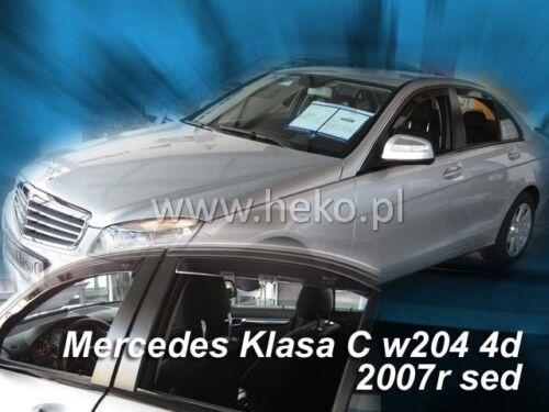 Saute vent MERCEDES C w204 Berline Combi 4-Türig 2007-2012 2-tlg HEKO 23257