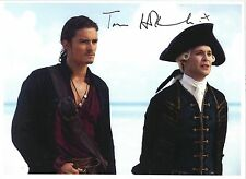 Hand Signed 8x10 colour photo TOM HOLLANDER - PIRATES OF THE CARRIBEAN