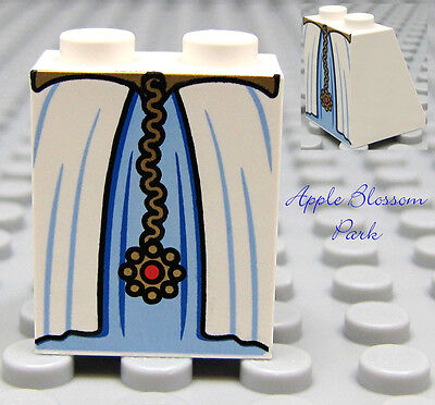 Princess Dress Bottom Slope NEW Lego Female Girl Plain AQUA BLUE MINIFIG SKIRT
