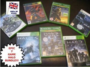 Details about XBOX 360 HALO 7 Game ULTIMATE BUNDLE - All 7 Games inc REACH  WARS ODST 3 4 etc