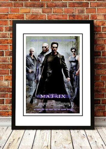 THE MATRIX Movie Poster 1999 Available Framed or Unframed