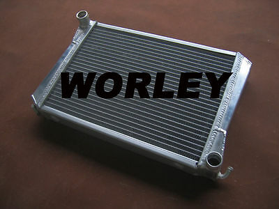 Aluminum radiator for MG MIDGET 1275 1967-1974 Manual