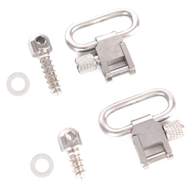 1Pair Steel Strap Ring Professional Quick Detachable Sling Swivel AccessoriesQEC