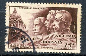 TIMBRE FRANCE OBLITERE N° 898 HOMMAGE A LA MEDECINE MILITAIRE