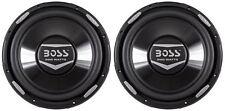 """(2) Boss Audio Armor AR12D 12"""" 4800 Watt Dual 4 Ohm Car Stereo Subwoofers Subs"""