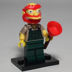 Lego-71009-Minifig-Simpsons-Series-2-GROUNDSKEEPER-WILLIE-Free-Postage
