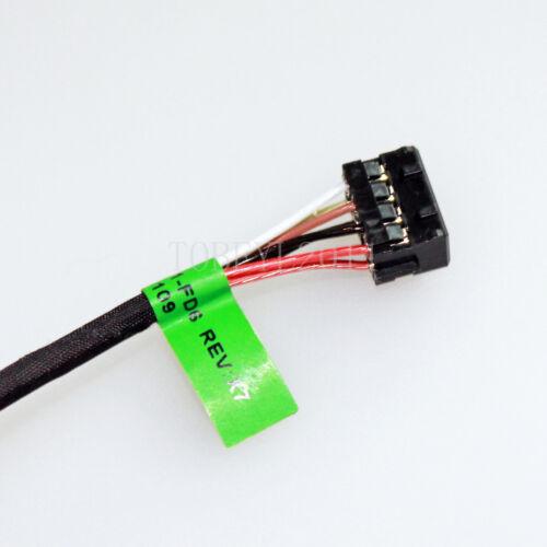 DC Power Jack Harness Plug Cable Socket Charging Port HP 15-G 15-R Series JF-USA