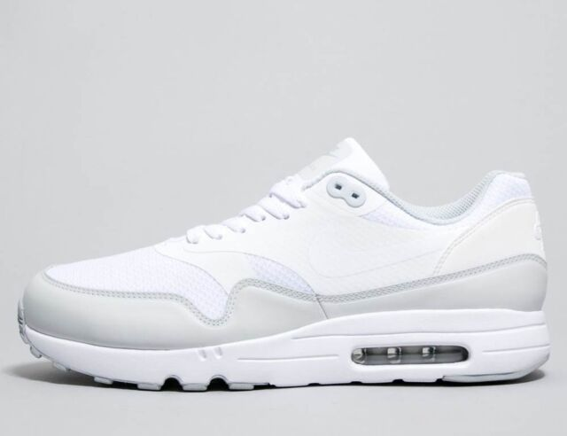 best authentic 8ab4b 41e2c Nike Air Max 1 Ultra 2.0 Essential White White-Pure Platinum (875679 101