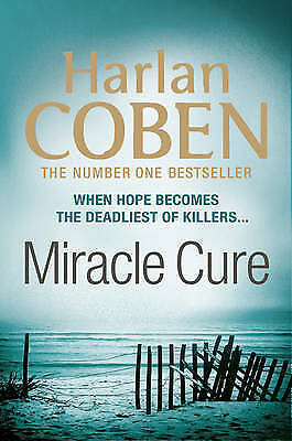 """""""AS NEW"""" Miracle Cure, Coben, Harlan, Book"""