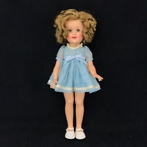 Ideal-Shirley-Temple-15-Vinyl-Doll-Blue-Baby-Doll-Dress