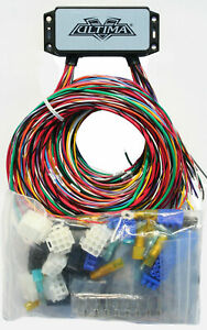 ultima plus compact electronic wiring harness kit bobber chopper harley 18 533  harley chopper wiring harness #11