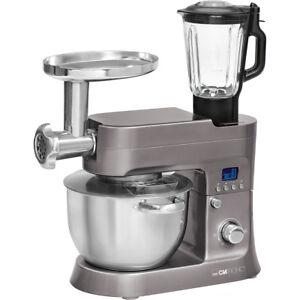 Robot-Cocina-Batidora-Amasadora-Picadora-Carne-Vaso-Accesorios-Pasta-Clatronic