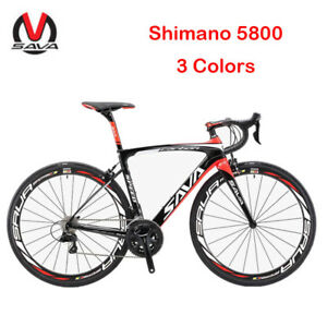 SAVA-HERD-New-6-0-700C-Carbon-Fiber-Road-Bike-Shimano-5800-105-Groupset-22-Speed
