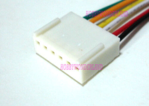 KF2510 2.54 6-Pin female housing Connector Plug wire /& Male PCB Header 5 SETS