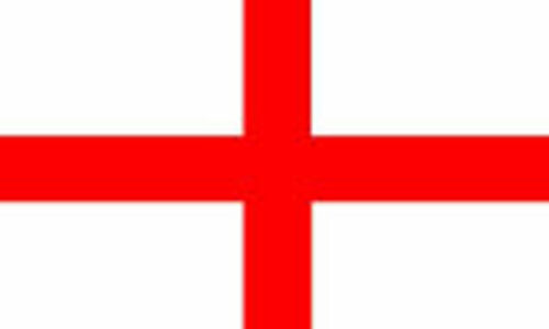 COFFINS ST GEORGE 8ft X 5ft IDEAL FOR FUNERALS FLAG