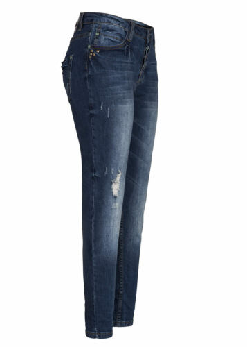 50/% off b15120407 da donna eight 2 Nine Pantaloni Jeans Profondo passo URBAN SURFACE BLU