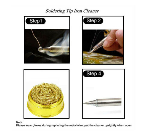 High Quality Silverline Soldering Tip Cleaning Ball and Base