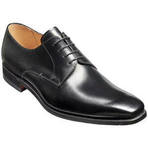Barker 7 G Boxed noir dentelle cuir Derby 41 Uk Nouveaux Wide Eu en Chaussures 'lyle' Fit pqgtOOz8