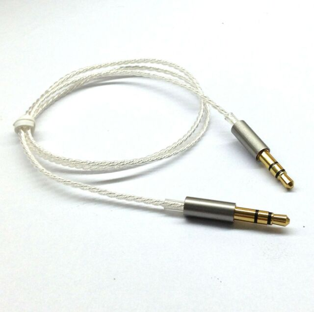 New Silver Plated Audio upgrade Cable For Bang & Olufsen Beoplay H6 H8 headphone