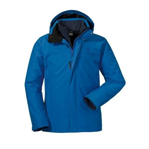 Schöffel Turin1 3in1 Jacket Herren Doppeljacke Herren blau Doppelzipper