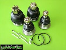 4pcs Aftermarket Lower + Upper Ball Joint Set for Xterra Frontier 2.4L 98-04 RWD
