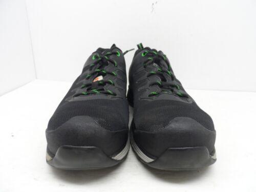 Gelaste Work plaat Zwart Aluminium groen stalen Heren 10ee Pro Teen sportschoenen BnrYTnfaq