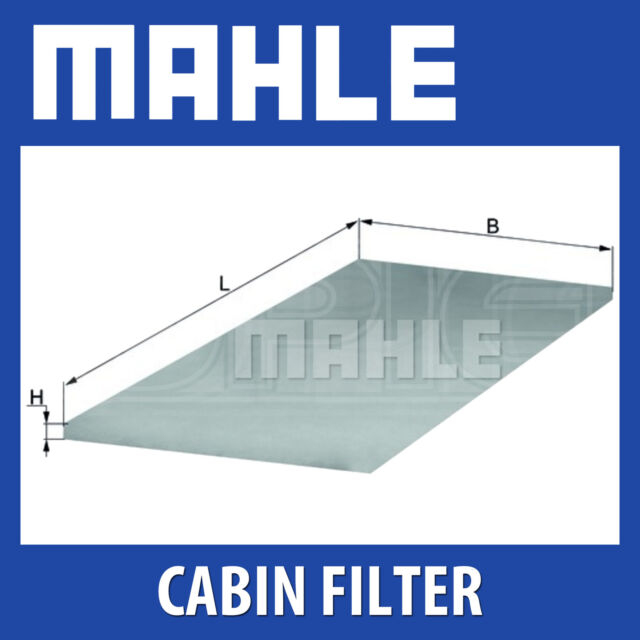 MAHLE Foam Cabin Filter - LAP5 - LAP 5 - Fits MERCEDES-BENZ BUSES