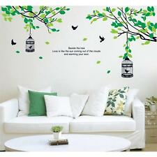 Removable Tree Birdcage Wall Decals Living Room Wall Stickers Art Decor Decor