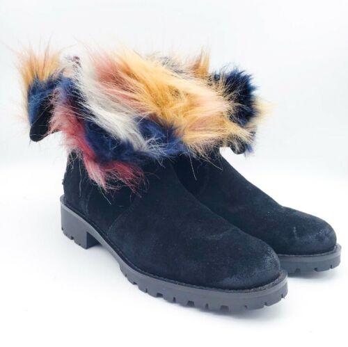 Sam Edelman Jeanie Multicolored Faux Fur Lining Bl