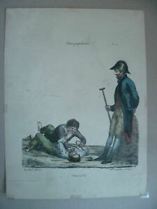 Litho-XIX-Langlume-Y-es-Tu-La-von-Pigal-Edme-Jean-Circa-1822