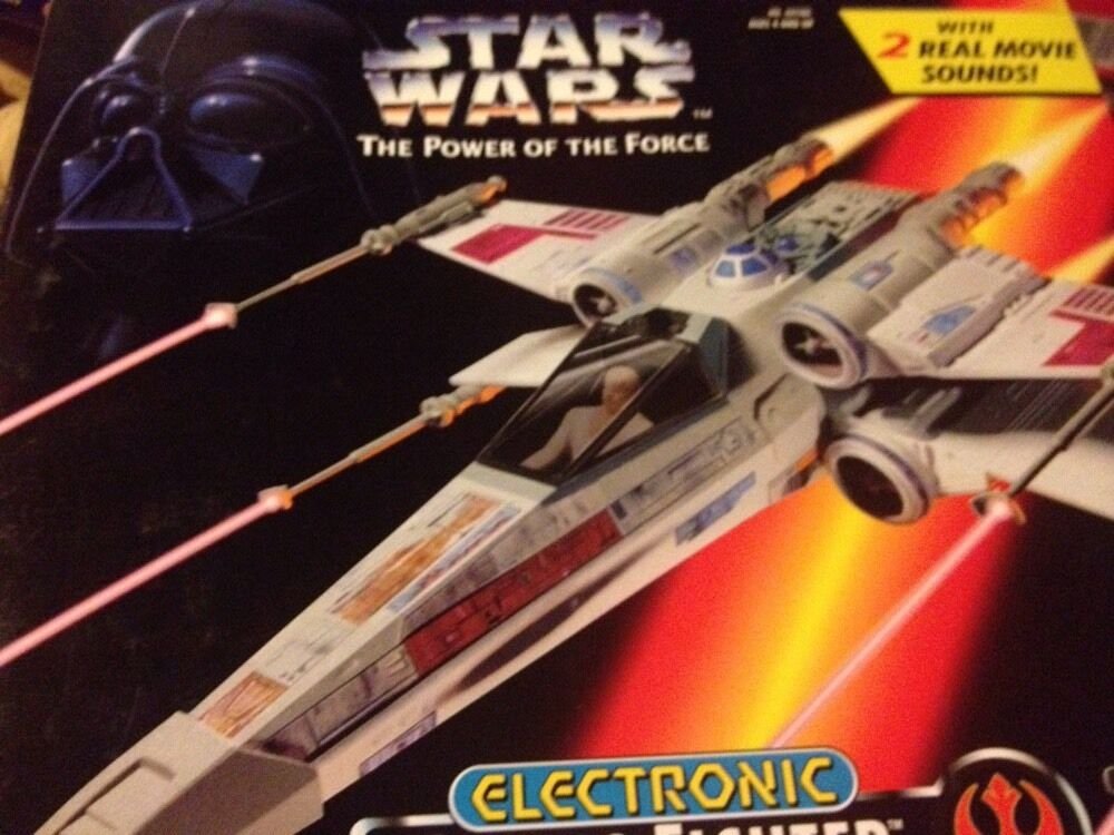 Star Wars Power of the the the Force Electronic X-Wing Fighter 96afde