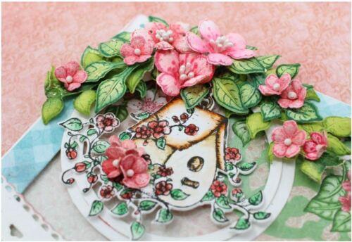 Heartfelt Creations Stamp /& Die Combo ~ CHERRY BLOSSOM RETREAT Spring 3867,7231